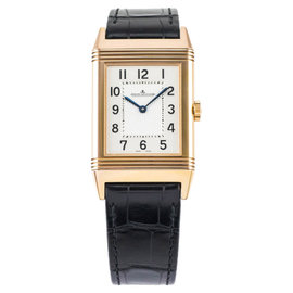 Jaeger-LeCoultre Reverso Q2782520 18K Rose Gold & Leather 27mm Watch