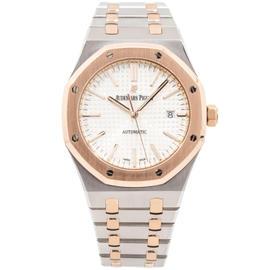 Audemars Piguet Royal Oak 18K Rose Gold & Stainless Steel 41mm Watch