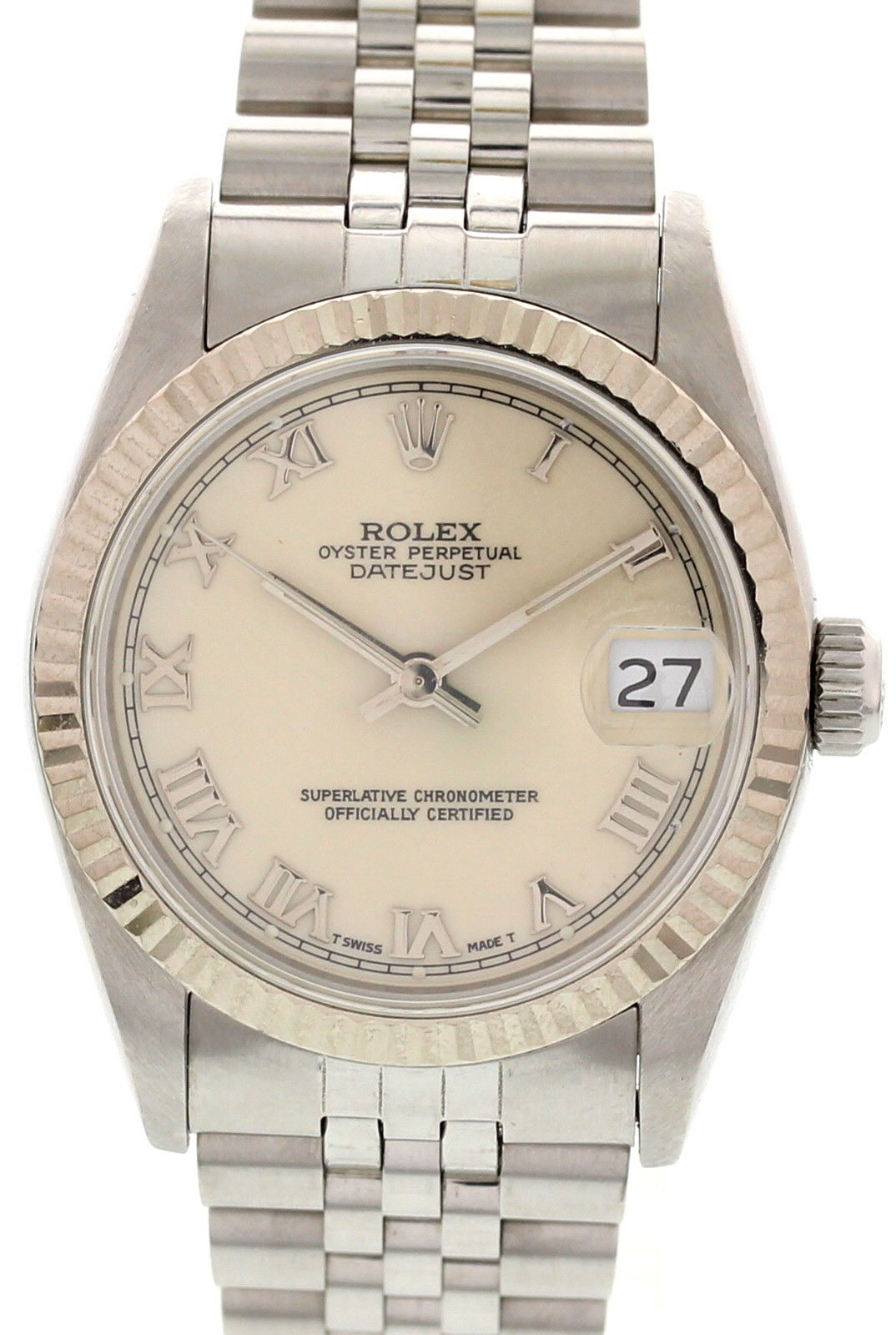 """Image of """"Rolex Datejust 68274 Stainless Steel Watch"""""""