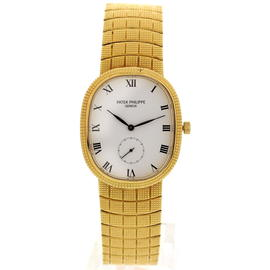 Patek Philippe Ellipse 18K Yellow Gold Men's Watch