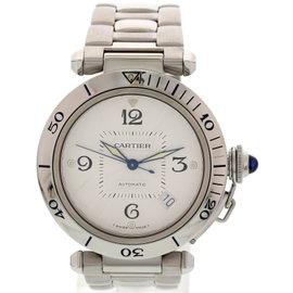 Cartier Pasha 2378 Stainless Steel Men's Watch