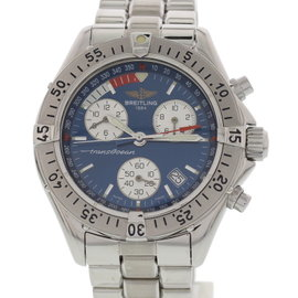 Breitling Transocean A530401 Chronograph Stainless Steel 42mm Watch