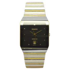 Rado Dia Star Stainless Steel / Gold Plated 28mm Mens Watch