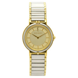 Yves Saint Laurent 2200-228481TA Stainless Steel & Gold Plated 23.5mm Womens Watch