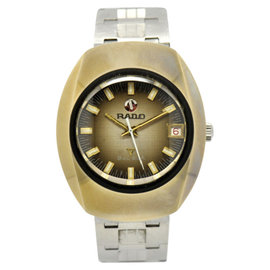 Rado Balboa Stainless & Plated Metal 35mm Mens Watch