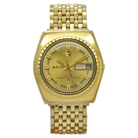 Rado Gold Plated Automatic 36mm Mens Watch