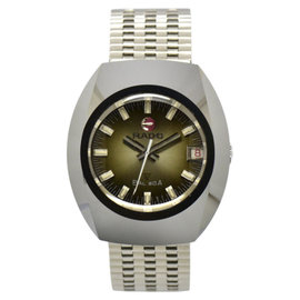 Rado Balboa Tungsten & Stainless Steel 35.5mm Mens Watch