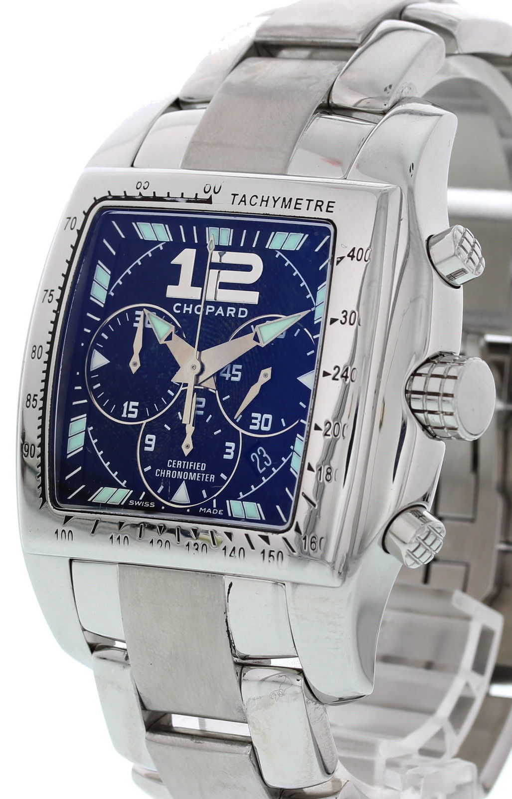 """Image of """"Chopard Tycoon Two O Ten 8961 Chronograph Stainless Steel Automatic"""""""