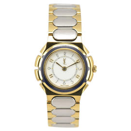 Yves Saint Laurent Stainless Steel & Gold Plated 26 mm Womens Watch