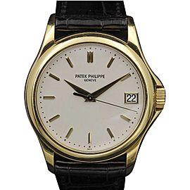 Patek Philippe Calatrava 5127J 18K Yellow Gold Silver Dial 37mm Unisex Watch