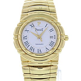 Piaget Tanagra 24041 M 401 D 18K Yellow Gold Automatic 33 mm Unisex Watch
