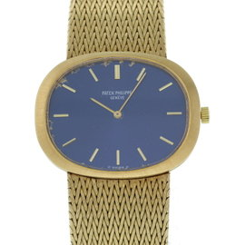 Patek Philippe Ellipse 3583/1 18K Yellow Gold Manual 34 X 27mm Mens Watch