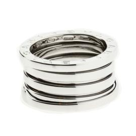 Bulgari B.zero1 18K White Gold Band Ring Size 8.25