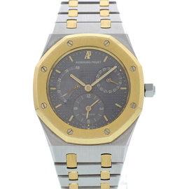 Audemars Piguet Royal Oak Stainless Steel & 18K Yellow Gold Dual Time Power Reserve Bronze Dial 37mm Mens Watch