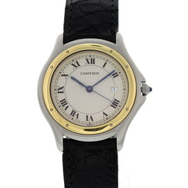 Cartier Cougar 187904 18K Yellow Gold / Stainless Steel 33mm Unisex Watch