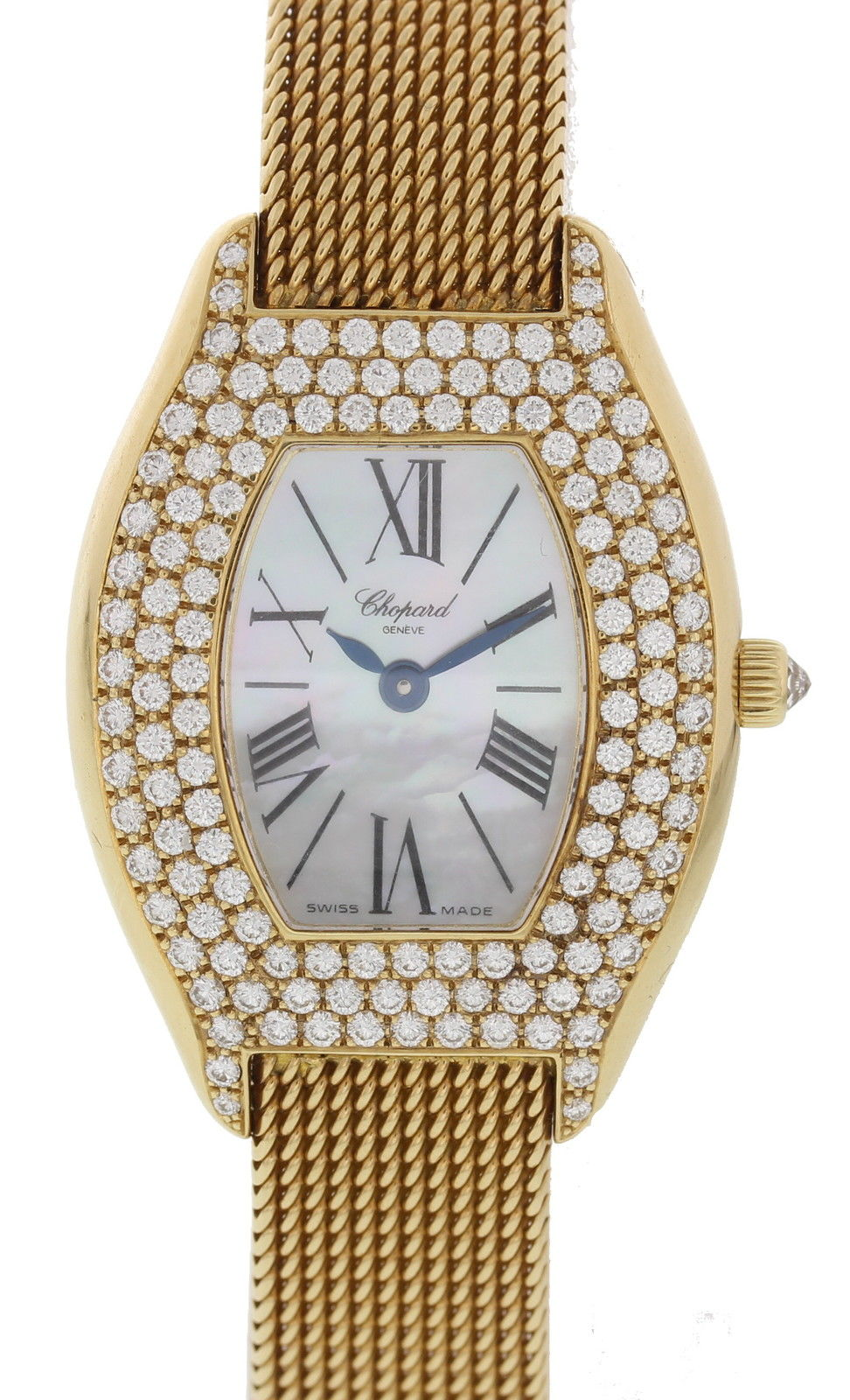 "Image of ""Chopard 10/7023/8-20 18K Yellow Gold with Diamonds Quartz 25mm Womens"""