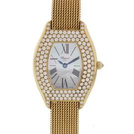 Chopard 10/7023/8-20 18K Yellow Gold with Diamonds Quartz 25mm Womens Watch