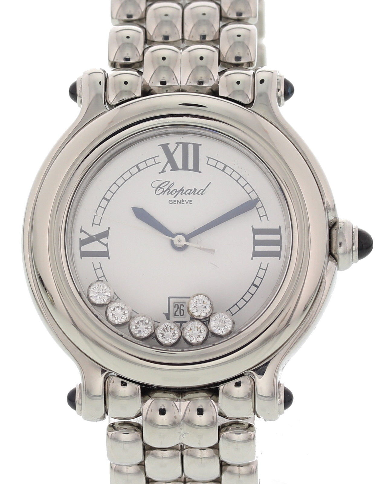 "Image of ""Chopard Happy Sport 27/8236-23 Stainless Steel White Dial Quartz 32mm"""
