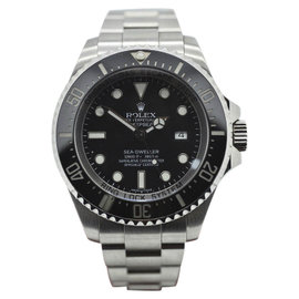 Rolex Sea Dweller Deepsea 116660 Black Dial Stainless Steel 44mm Mens Watch