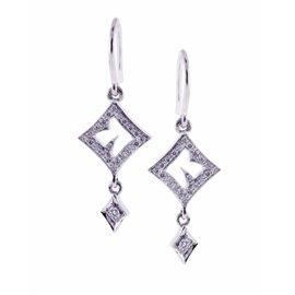 Stephen Webster 18K White Gold Thorn Earrings