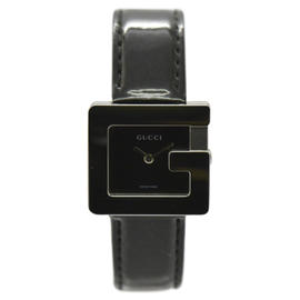 Gucci 3600L Stainless Steel / Leather 23.5mm Womens Watch