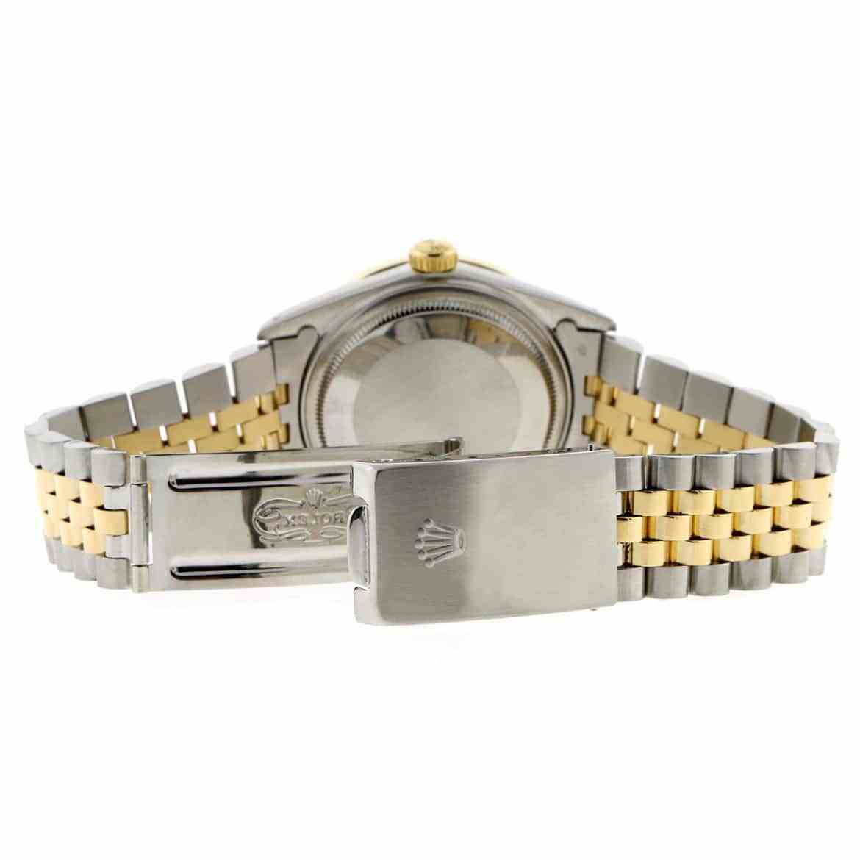 "Image of ""Rolex Datejust Steel Diamond Unisex Watch"""