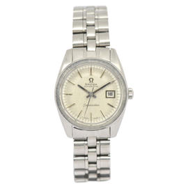 Omega Seamaster Stainless Steel with Silver Dial 25mm Womens Watch