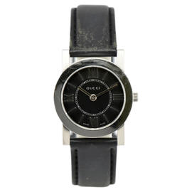 Gucci 5200L Stainless Steel Black Dial Quartz 27mm Womens Watch