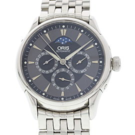Oris Artelier 7592 Stainless Steel Grey Dial Automatic 40mm Mens Watch