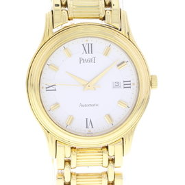 Piaget Polo 24001M501D 18K Yellow Gold Automatic 34mm Mens Watch