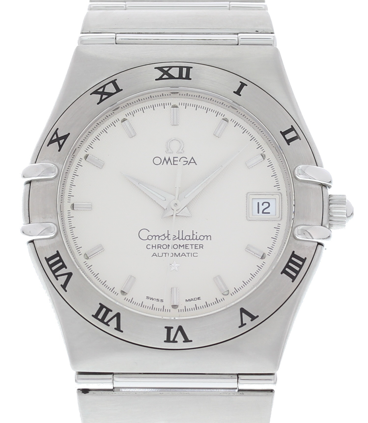 "Image of ""Omega Constellation 368.1201 Stainless Steel White Dial Automatic 36mm"""