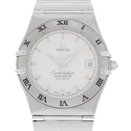 Omega Constellation 368.1201 Stainless Steel White Dial Automatic 36mm Mens Watch