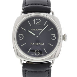 Panerai Radiomir PAM 210 / OP 6623 Stainless Steel & Leather Manual 45mm Mens Watch