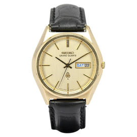 Seiko Grand 4843-8040 Gold Plated 37.5mm Mens Watch