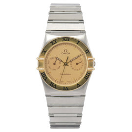Omega Constellation 18K Yellow Gold / Stainless Steel 32.5mm Mens Watch