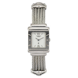 Charriol 6007909 925 Sterling Silver & Stainless Steel 19.5mm Womens Watch