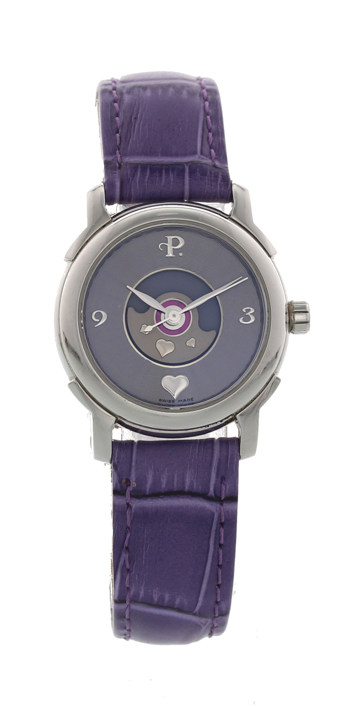 "Image of ""Perrelet Coeur Stainless Steel Automatic 29mm Womens Watch"""