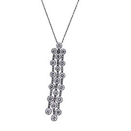 Chimento 18K White Gold Maria 2.91ct Diamond Dangle Necklace