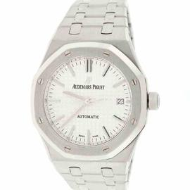 Audemars Piguet Royal Oak 15450ST.OO.1256ST.01.A Stainless Steel with Silver Dial 37mm Mens Watch