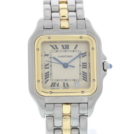 Cartier Panthere 183949 18K Yellow Gold & Stainless Steel Quartz 27mm Unisex Watch