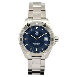 Tag Heuer Aquaracer 300m WAY1112 Stainless Steel with Blue Dial 40.5mm Mens Watch