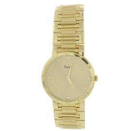 Piaget Dancer B4023 18K Yellow Gold Automatic 31mm Womens Watch
