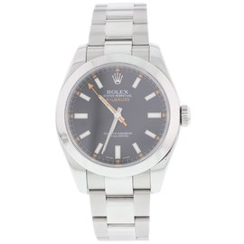 Rolex Oyster Perpetual Milgauss 116400 Stainless Steel Automatic 40mm Mens Watch