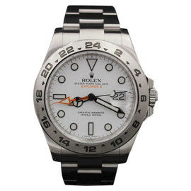 Rolex Explorer II 216570 White Dial Stainless Steel 42mm Mens Watch