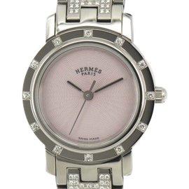 Hermes Clipper CL4.230 Stainless Steel 24.5mm Womens Watch
