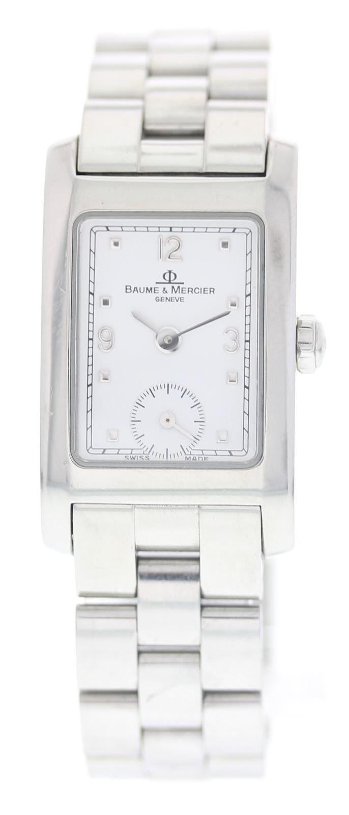 "Image of ""Baume & Mercier Hampton Mv045139 Stainless Steel 20mm Womens Watch"""