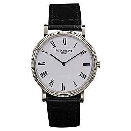 Patek Philippe Calatrava 5120 White Gold Automatic 35mm Unisex Watch
