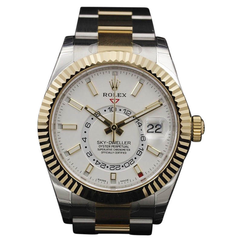 "Image of ""Rolex Sky-Dweller 326933 Two Tone Stainless Steel 18K Yellow Gold"""