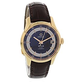Omega De Ville Hour Vision 431.63.41.21.13.001 18K Rose Gold Automatic 40mm Mens Watch