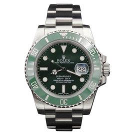 Rolex Submariner Hulk 116610LV Stainless Steel 40mm Mens Watch
